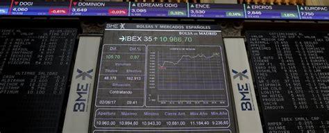 Ibex, en directo: Santander marca el paso de la Bolsa ...