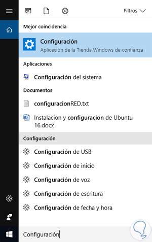 Icono de Configuración no aparece en Menú Inicio Windows ...