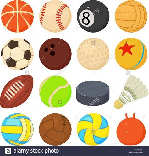 Iconos de balones deportivos configurar reproducir tipos ...