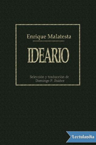 Ideario - Enrique Malatesta - Descargar epub y pdf gratis ...