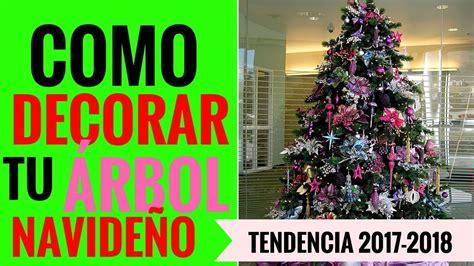 IDEAS COMO DECORAR TU ÁRBOL DE NAVIDAD MODELOS Y ...