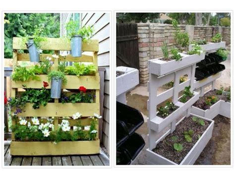 Ideas con palets para jardines creativos y asombrosos