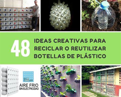 Ideas creativas para reciclar o reutilizar botellas de ...