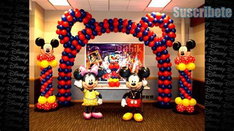 Ideas De Como Decorar Tu Fiesta Mickey Mouse - YouTube