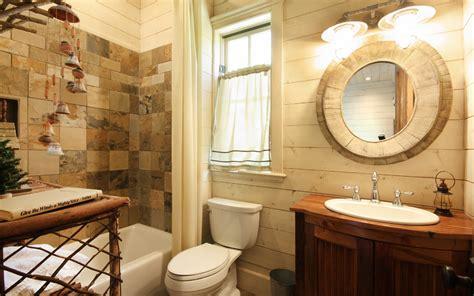 Ideas de decoración para baños rústicos pequeños (fotos ...