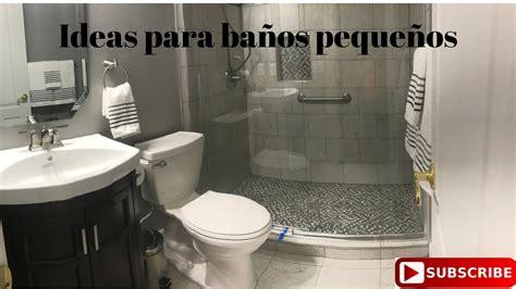 Ideas de remodelacion para baños pequeños - YouTube
