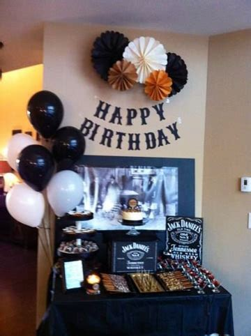 Ideas faciles de adornos de cumpleaños para hombre ...
