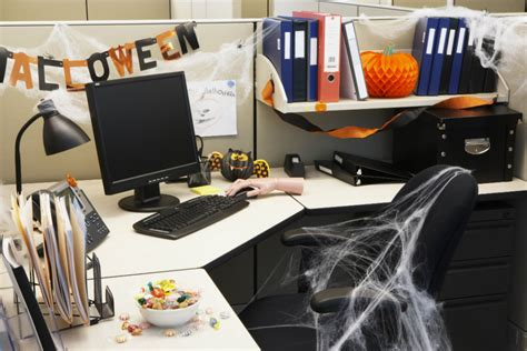 Ideas innovadoras para decorar la oficina en Halloween ...
