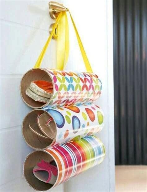 Ideas originales para hacer zapateros caseros de tela ...