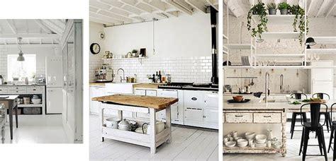 Ideas para decorar cocinas blancas de distintos estilos