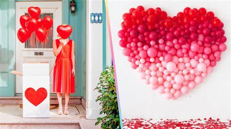 Ideas para decorar con Globos en San Valentín ~ Craftingeek