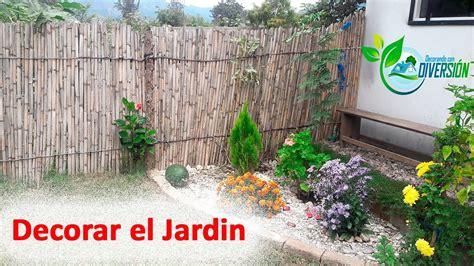 Ideas para Decorar el Jardin - YouTube