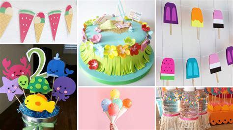 Ideas para decorar fiesta de cumpleaños infantil en verano ...