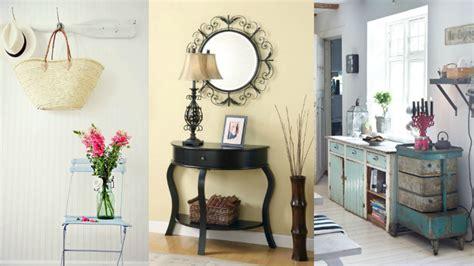 Ideas para decorar la entrada con estilo vintage