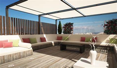 Ideas para decorar la terraza de un ático   terraza ...