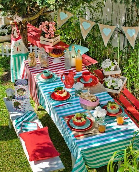 Ideas para decorar mesas al aire libre. Decoración de ...