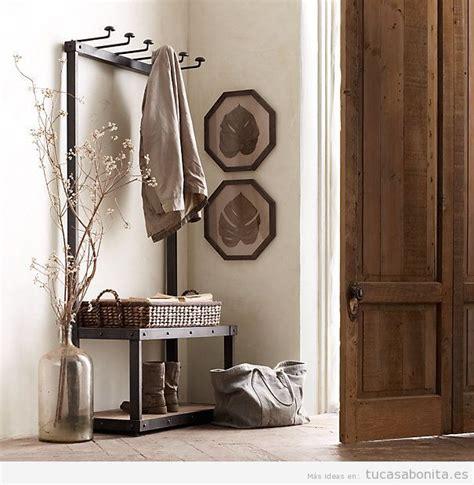 Ideas para decorar un recibidor estilo vintage y que sea ...