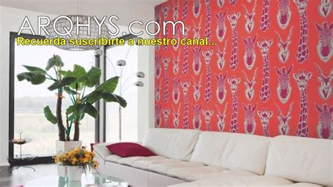 Ideas para decorar una pared con tela... (っ ‿ )っ♥ - YouTube