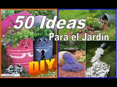 IDEAS para EL JARDIN/PATIO que tu mismo PUEDES HACER - YouTube