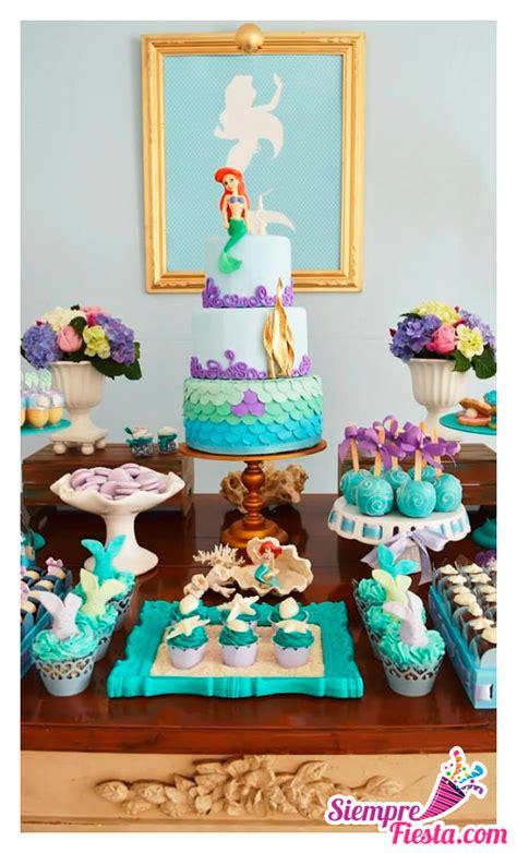 Ideas para fiesta de cumpleaños de la Sirenita de Disney ...