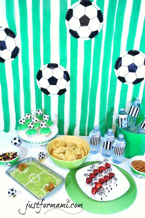 Ideas para fiesta de Futbol Soccer   Just for Mami