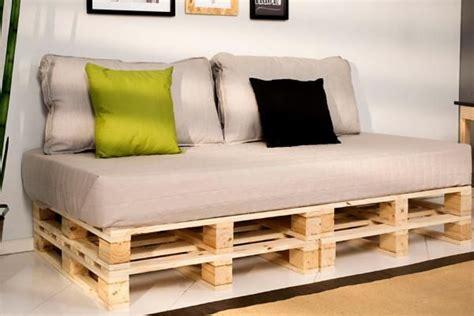 Ideas para hacer sofás de palets