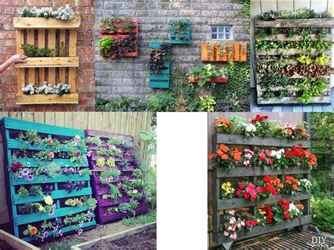 Ideas para la decoración de jardines con palets