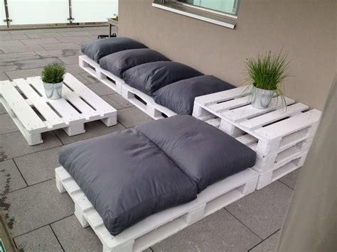 Ideas para la terraza con palets