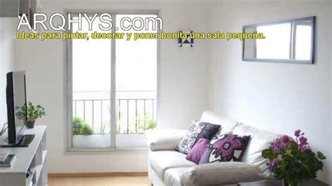 Ideas para pintar, decorar y poner bonita una sala pequeña ...