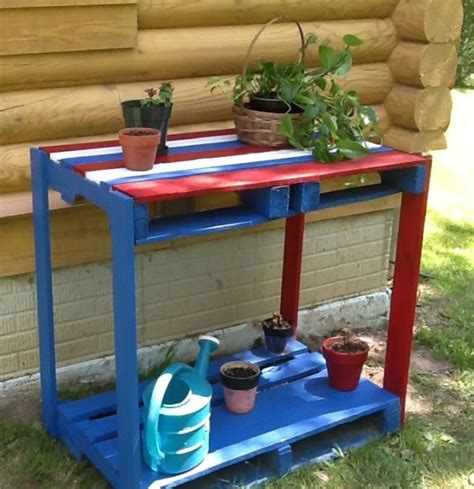 Ideas para reutilizar palets en el jardín