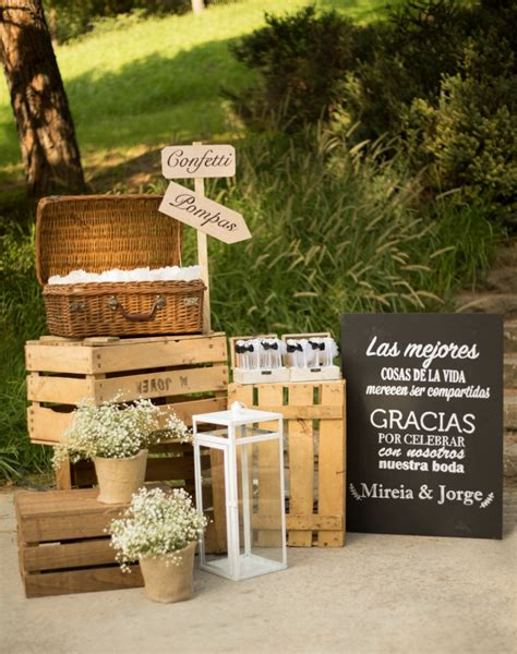 Ideas para una boda campestre maravillosa - All Lovely Party