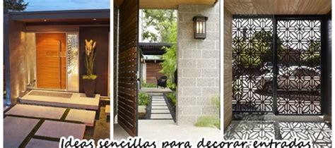 Ideas sencillas para decorar la entrada de tu casa ...
