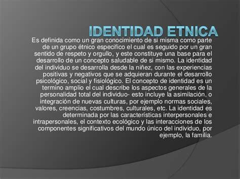 Identidad etnica