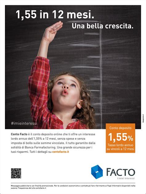Ideogramma per Conto Deposito Facto   Spot and Web