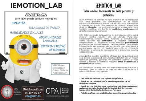 iEMOTION_LAB. Taller on-line. Incrementa tu éxito personal ...