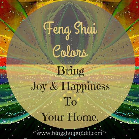 If you're looking to learn feng shui colors & how to use ...