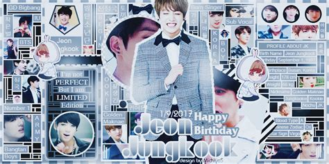 Iggy: HAPPY BIRTHDAY JEON JUNGKOOK by Michiyo S on DeviantArt