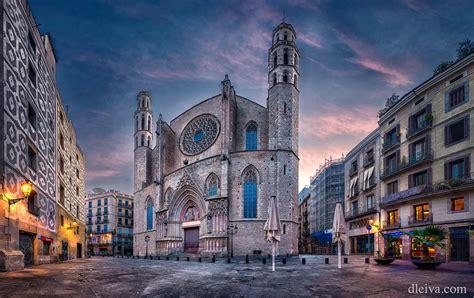 Iglesia de Santa María del Mar, Barcelona   Dawn in Santa ...