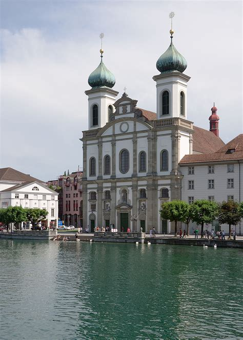 Iglesia Jesuita  Lucerna    Wikipedia, la enciclopedia libre
