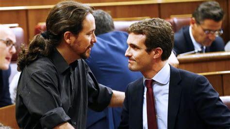 """Iglesias sorprendido con registrador Rajoy y """"democracia ..."""