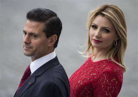 ¡Ignorada! La relación amor-odio de Peña Nieto y su esposa ...