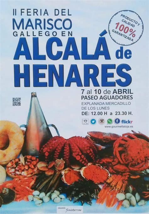 II Feria del marisco gallego en Alcalá de Henares   Dream ...
