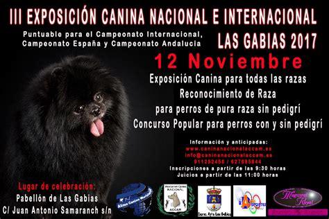 III Exposición Canina Nacional e Internacional de Las ...