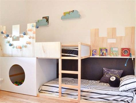 Ikea Hack, la cama Kura se convierte en castillo   DecoPeques