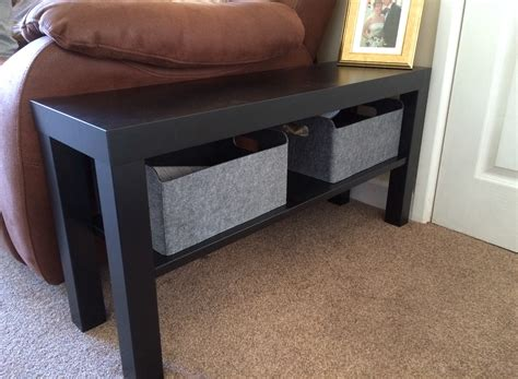 IKEA hack lack tv bench as side table | ikea | Pinterest ...