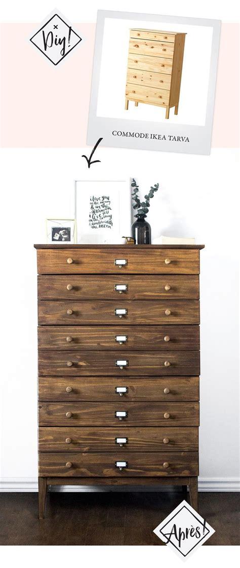 ikea hack tarva furniture tutorial diy apothecary westelm ...