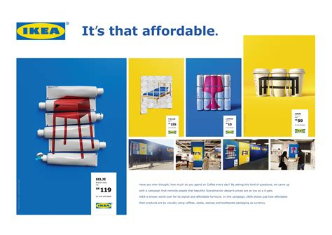 IKEA:  IKEA. IT S THAT AFFORDABLE  Print Ad by Memac ...