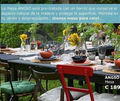 Ikea Jardín catálogo 2015: muebles de exterior, iluminación…