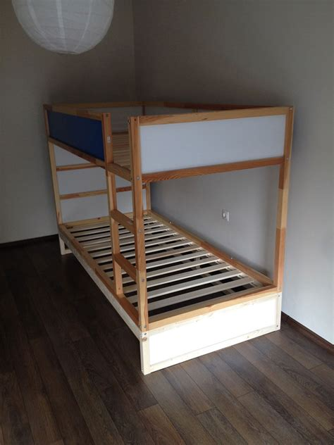 IKEA KURA Double Bunk Bed + Extra hidden bed (Sleeps 3 ...