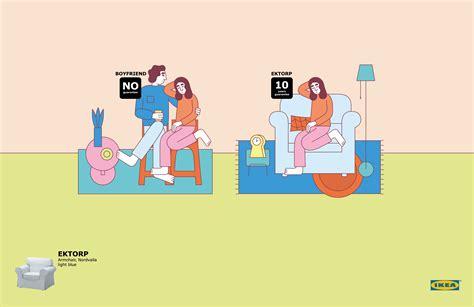 IKEA Print Advert By Iris: Boyfriend   Ads of the World™